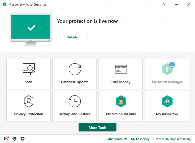Working Kaspersky Total Security 2020 Key - TodayTechnology